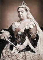 ビクトリア女王喪服姿