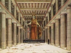 アテナ女神像